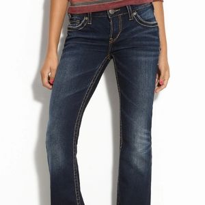 Silver Aiko Bootcut Jeans Size 31 × 28 Wom…